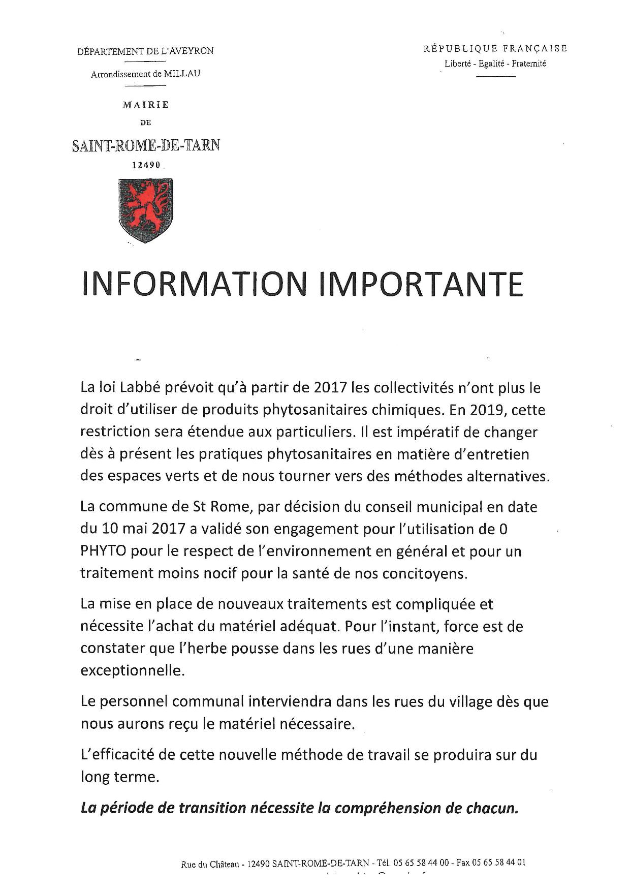 information importante page 001